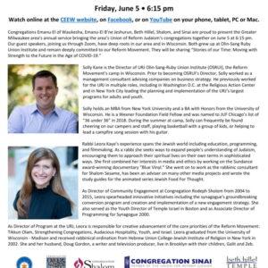 MCRC Shabbat - June 5, 2020