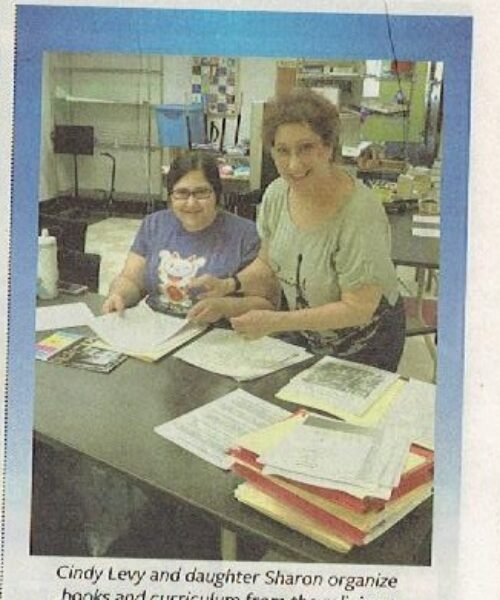 Cindy and Sharon in Chronicle