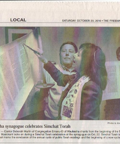 Freeman Simchat Torah