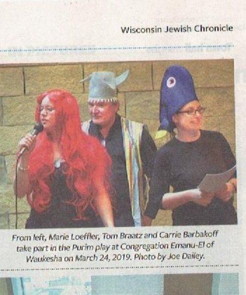 Purim in Chronicle
